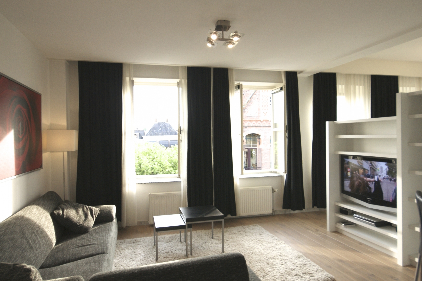 Fully equiped and spacious apartment with 1.5m² shower! - Kampen