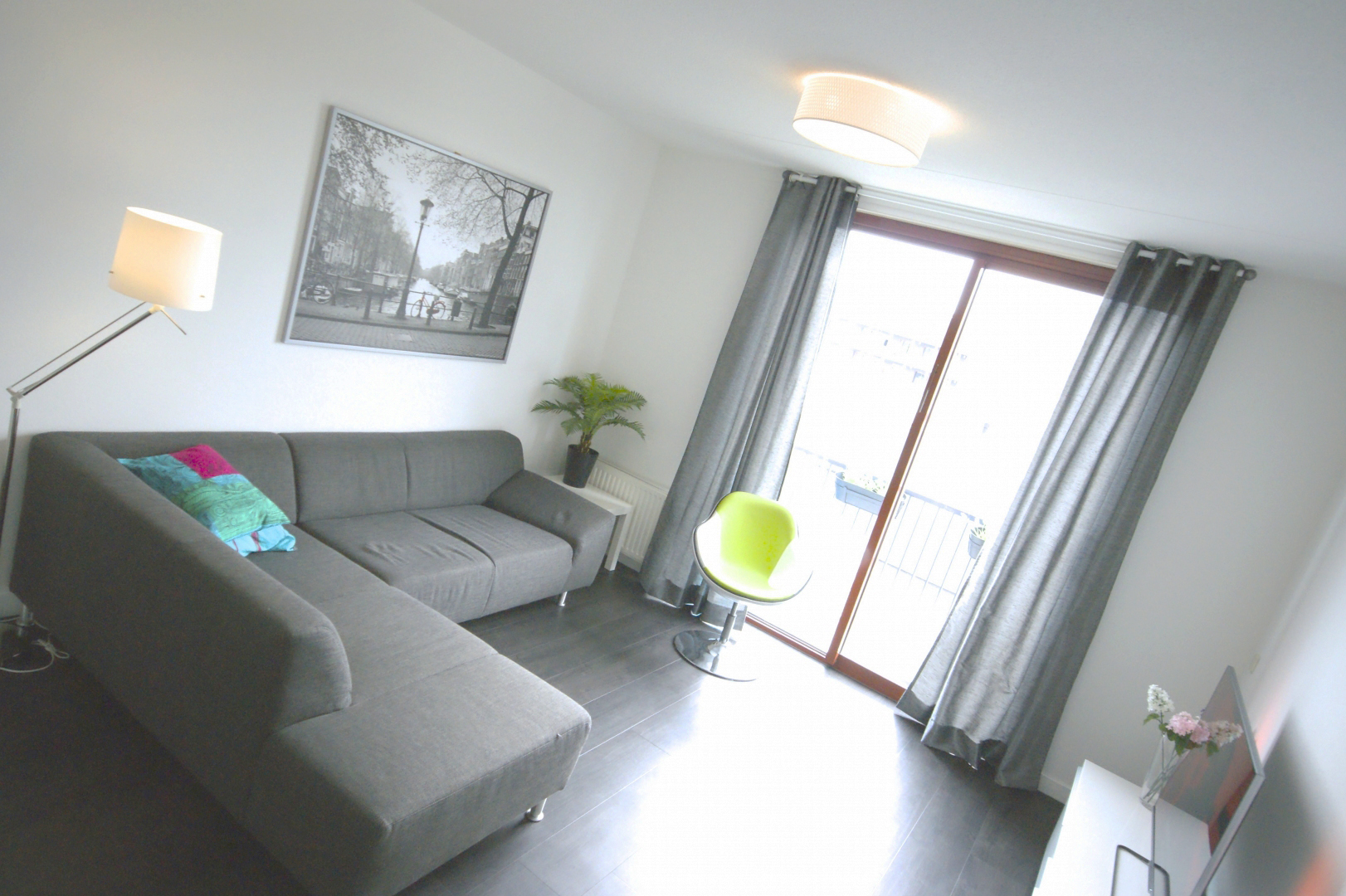 Luxurious furnished apartment Zwolle incl. balcony sauna